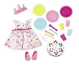 Комплект куклы Беби Борн День рождения Baby Born Zapf Creation 825242