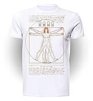 Футболка GeekLand Пятый элемент The Fifth Element Vitruvian Leeloo FE.01.010
