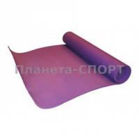 Коврик для фитнеса 5мм YG-055 (р-р 1,73м*0,61м*5мм, фиолетовый)