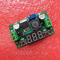 Регулятор напряжения LM2596 DC 4.0 ~ 40 до 1.3-37 В с дисплеем