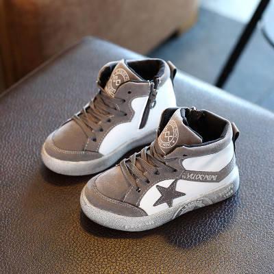 Кросівки високі з зіркою, фото 2