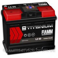 Аккумулятор автомобильный Fiamm Black Titanium 60AH R+ 510А