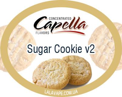 Ароматизатор Capella Sugar Cookie v2 (Сахарное Печенье)