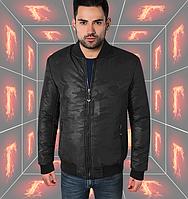 Куртка весенняя мужская - 298 черный