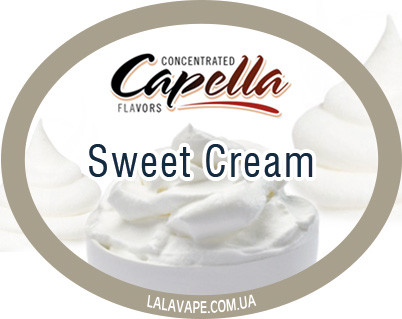 Ароматизатор Capella Sweet Cream (Сливки)