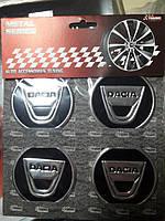 Наклейки на колпачки, заглушки, наклейки на диски 60 мм Dacia (Дачия)