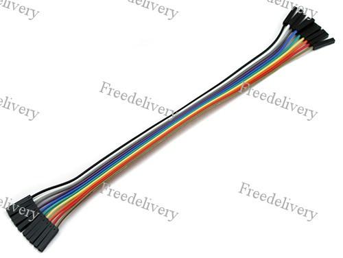 """10x Dupont Дюпон кабель мама-мама 20см для Arduino - Магазин """"Бесплатная доставка"""" в Ровно"""