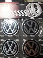Наклейки на колпачки, заглушки, наклейки на диски 60 мм VW Volkswagen Фольксваген