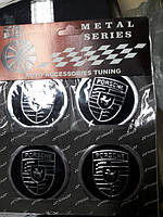 Наклейки на колпачки, заглушки, наклейки на диски 60 мм Porsche