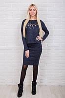 Трикотажный костюм женский Paris кофта и юбка p.44-48 AR99990-5 Разные цвета