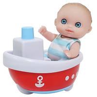 Пупс-малыш с лодочкой 13 см JC Toys (JC16912-8)