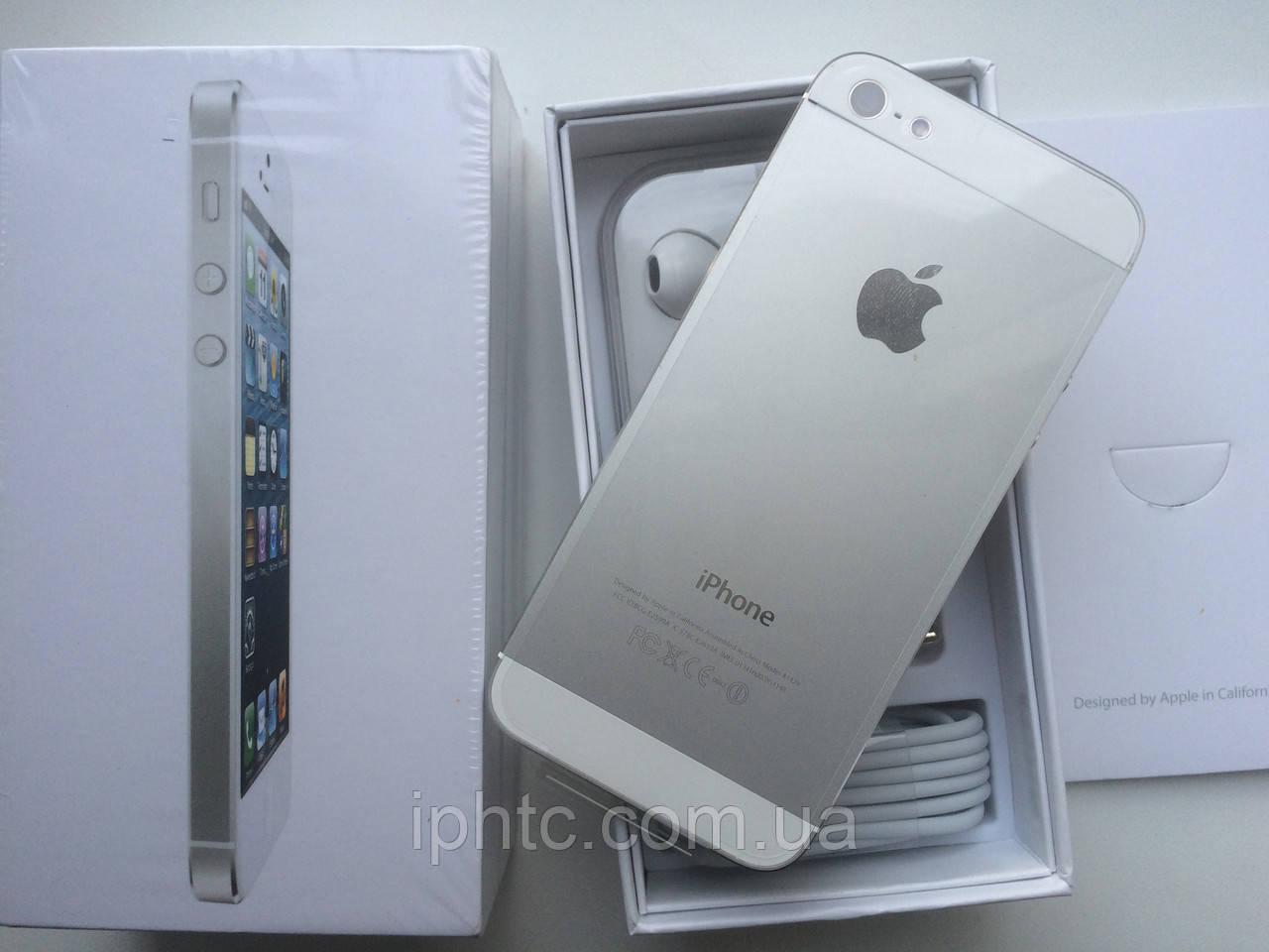 Apple iPhone 5 16GB white 4G Новый(RFB) Запечатан., фото 1