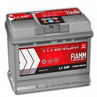 Аккумулятор автомобильный Fiamm Titanium Pro 54AH R+ 520А