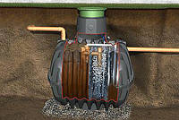Септик с системой биологической очистки Picobell, бак Graf Carat S от 4 чел. до 10 чел. сток до 1 м³ в сутки