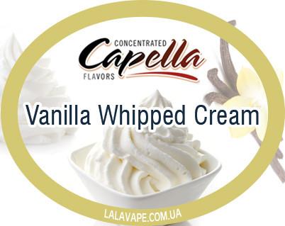 Ароматизатор Capella Vanilla Whipped Cream (Ванильный взбитый крем)