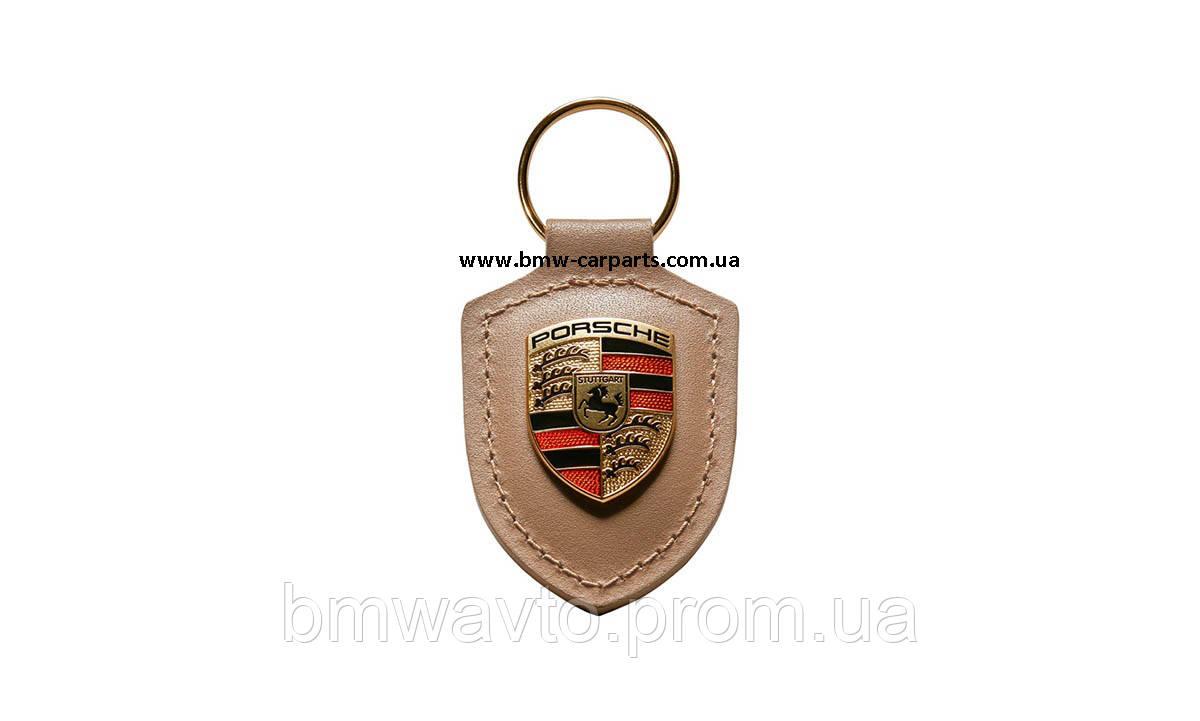Брелок для ключей с гербом Porsche Crest Keyring, Beige