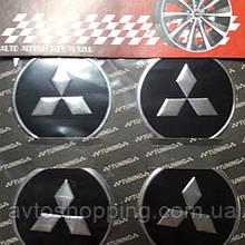 Наклейки на колпачки, заглушки, наклейки на диски 60 мм Mitsubishi Мицубиси