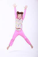 Пижама для девочки из интерлока