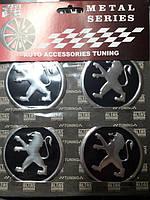Наклейки на колпачки, заглушки, наклейки на диски 60 мм Пежо Peugeot