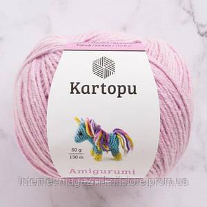 Пряжа Kartopu Amigurumi розовый