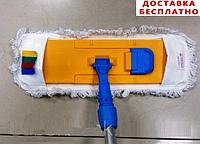 Швабра для влажной уборки на карманах 40х13 см, фото 1