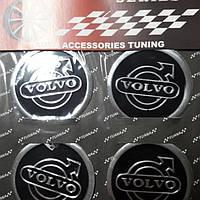 Наклейки на колпачки, заглушки, наклейки на диски 60 мм Volvo Вольво