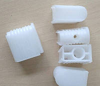 Втулка для хрестовини під ролик D = 11 мм / Заглушка для крестовины стула под шток ролика диам. 11 мм, пластик