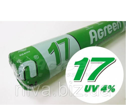 Агроволокно Біле 17 г/м 4,2*100 м Агрін