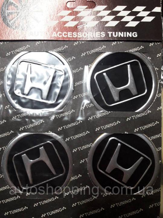 Наклейки на колпачки, заглушки, наклейки на диски 60 мм Honda (Хонда)