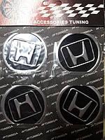 Наклейки на ковпачки, заглушки, наклейки на диски 60 мм Honda (Хонда)
