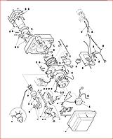 Запасные части к газовой горелке Riello RS - RS/1 MZ