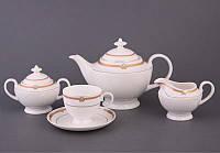 """Чайный сервиз на 6 персон, 15 предметов, """"Карлен"""""""