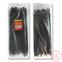Хомут пластиковый 2,5x150мм, (100 шт/упак), черный