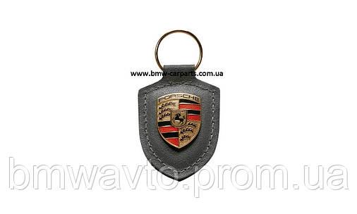 Брелок для ключей с гербом Porsche Crest Keyring, Grey, фото 2