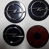 Наклейки на диски, колпачки заглушки 3D Opel 60 мм
