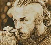 """Схема для вышивания """" Ragnar сепия  """""""