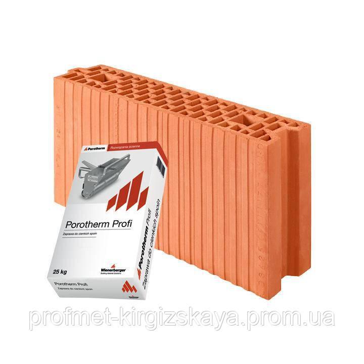 Кирпич Porotherm 11.5 Profi