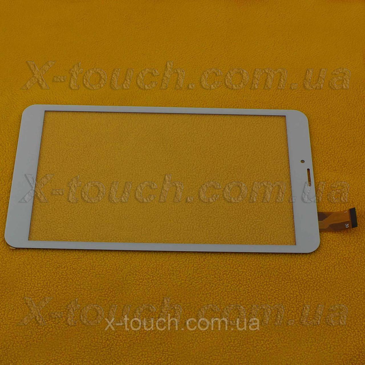 Тачскрин, сенсор MATRIX 818 3G для планшета, белого цвета