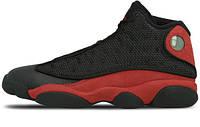 Мужские кроссовки Air Jordan 13 Bred Black Red