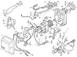 Запасные части к горелке Riello Gulliver RG5D