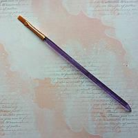 Кисточка синтетическая плоская Kolos 7009 №6, фото 1