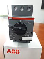 Автоматический выключатель защиты двигателя MS116-10