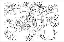 Запасные части к горелке Riello RLS 28 38 50
