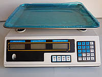 Весы электронные, торговые с калькулятором, с наибольшим пределом взвешивания до 40 кг, ваги