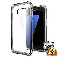 Чехол Spigen для Samsung S7 Crystal Shell, Dark Crystal