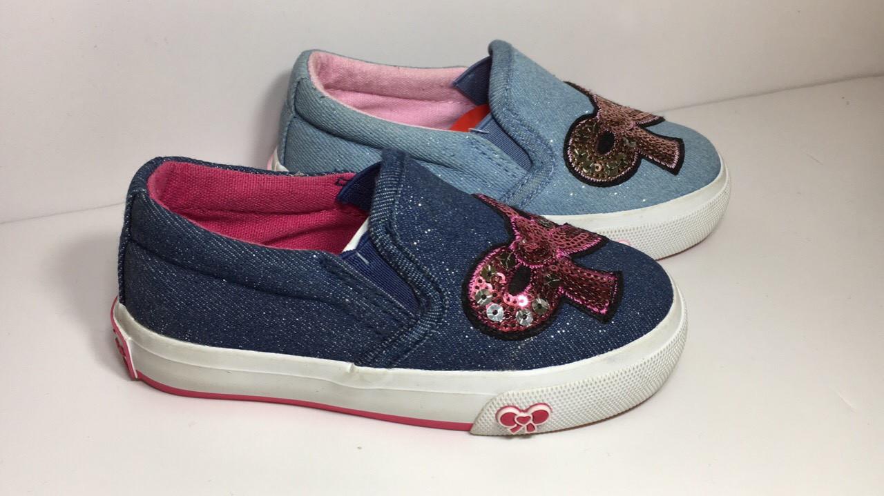Детские кеды для девочки, размеры 23-29 - Детская одежда и обувь оптом по 96e59d06871