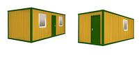 Аренда строительных Бытовок | Вагончиков размером 6 х 2,4 м