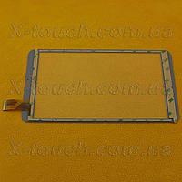 Тачскрин, сенсор XLD808-V0 для планшета, черного цвета