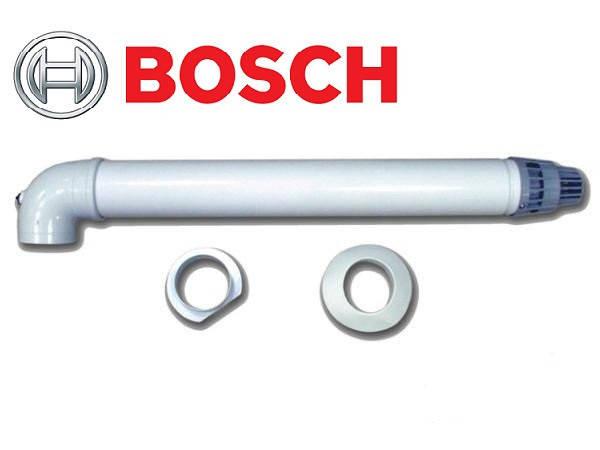 BOSCH AZ 389. Коаксиальный горизонтальный комплект Ø60/100 мм, фото 2