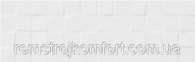 Плитка для стены Cersanit Simple Art White Glossy Structure Cubes 20x60